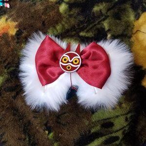 Princess Mononoke Hair Bow